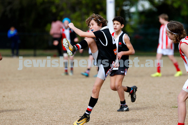 26-8-18. AJAX U 13 Jets vMordialloc Braeside . Grand Final. Photo: Peter Haskin