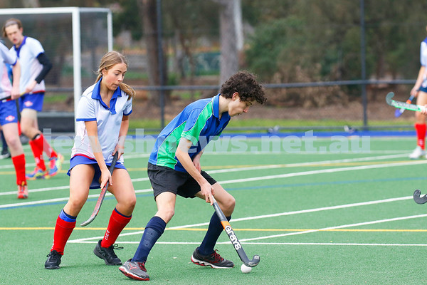 26-8-18. Maccabi Hockey U 16s. Elimination final final. Photo: Peter Haskin