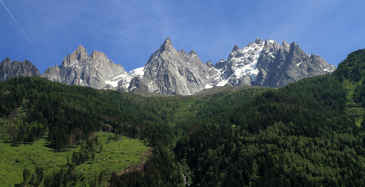 This view greeted us when we arrived to Chamonix