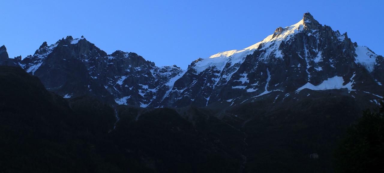 Morning mountains...