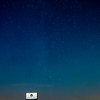 Made from 12 light frames by Starry Landscape Stacker 1.7.0.  Algorithm: Min Horizon Noise