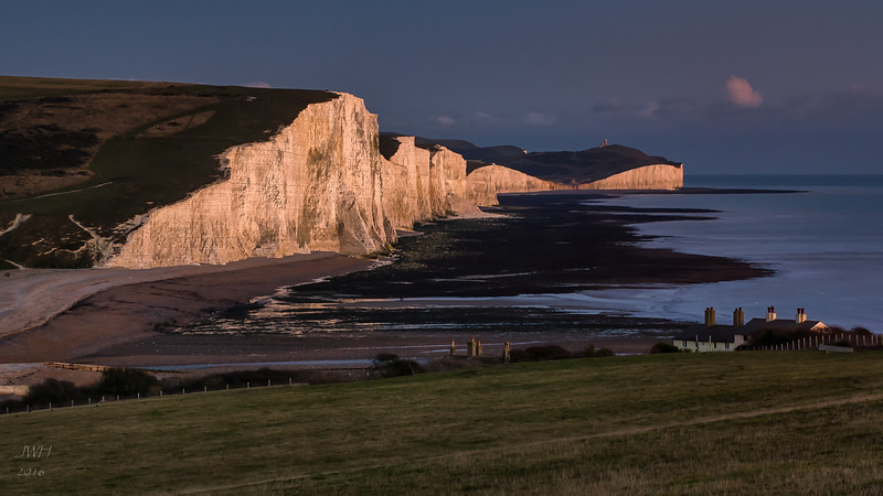Seven Sisters sunset cropped