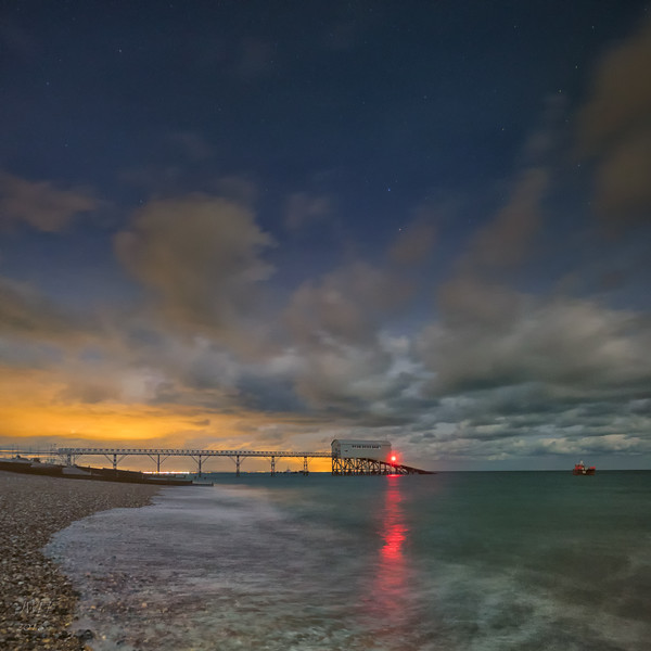 Moonlight over Selsey