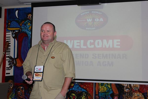 2013 Weekend Seminar