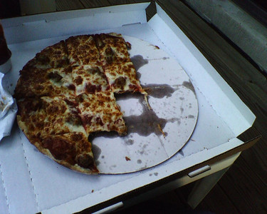 Pizza from Chili Mac Labor Day Weekend pictures / All taken with my Sidekick 3 --- Sent from my Sidekick
