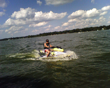 Chuck on My Seadoo XP Jet Ski Labor Day Weekend pictures / All taken with my Sidekick 3 --- Sent from my Sidekick