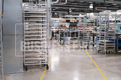 Astronics is preparing its manufacturing floor for a robot that will move components through the company's cells.