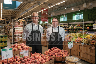 Tim Bartlett, general manager, and Chris Boyle, category manager, Lexington Co-op.