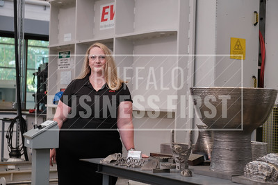 Liz Callahan launched Buffalo Manufacturing Works' program Shift, which helps smaller companies compete with better technology.