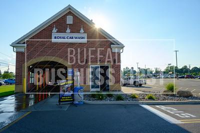 A look at Royal Car Wash's Transit location.