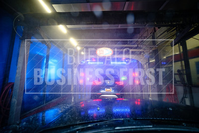 A look inside a Delta Sonic car wash.