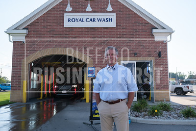 Anthony Daniele, co-owner, Royal Car Wash, at the company's Transit Road location.