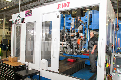 The Ultra Sonic Addative Manufactuer, UAM, at EWI Columus, Ohio. 6/14