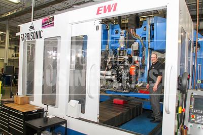 The Ultra Sonic Addative Manufactuer, UAM, at EWI Columus, Ohio. 6/14