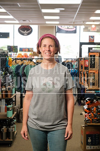 Sarah Beckwith, co-owner, Gear for Adventure.