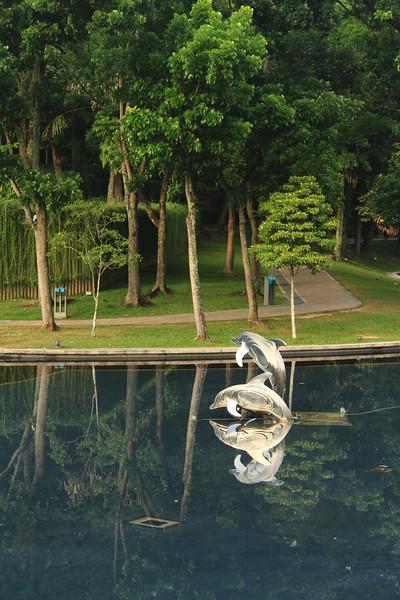 KLCC Park Reflecting Pool