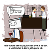 Bar - Webcomic about programming, web design and web browsers