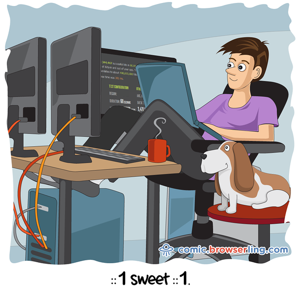 Home Sweet Home - Webcomic about programming, web design and web browsers