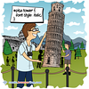 Pisa Tower - Webcomic about programming, web design and web browsers