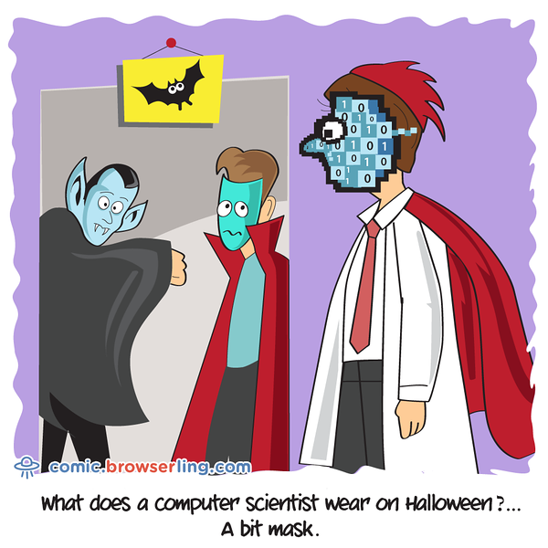 Halloween - Webcomic about programming, web design and web browsers