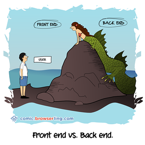 Full Stack - Webcomic about programming, web design and web browsers