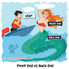 Mermaid - Webcomic about programming, web design and web browsers