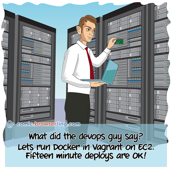 Devops Guy - Webcomic about programming, web design and web browsers
