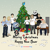 Codeful Christmas and Codeful New Year - Webcomic about programming, web design and web browsers