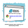 Where do you want to go today? - Webcomic about programming, web design and web browsers
