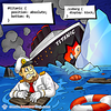 Titanic and Iceberg - Webcomic about programming, web design and web browsers