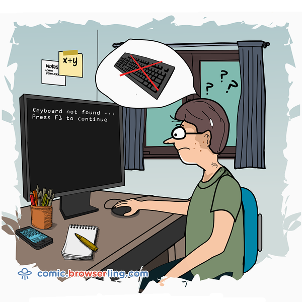 Keyboard - Webcomic about programming, web design and web browsers