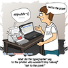 Printer - Webcomic about programming, web design and web browsers