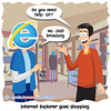 Shopping - Webcomic about programming, web design and web browsers