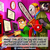 Psychopath - Webcomic about programming, web design and web browsers