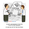 Newspaper - Webcomic about programming, web design and web browsers