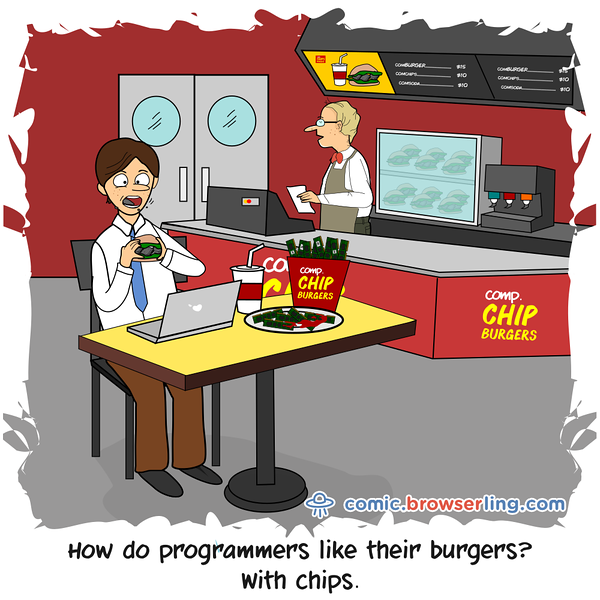 Chips - Webcomic about programming, web design and web browsers