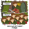 Hobbit - Webcomic about programming, web design and web browsers