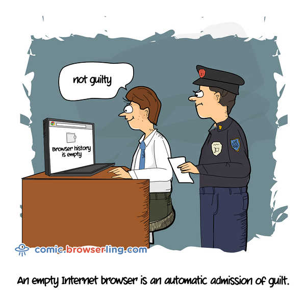 Browser History - Webcomic about web developers, programmers and browsers