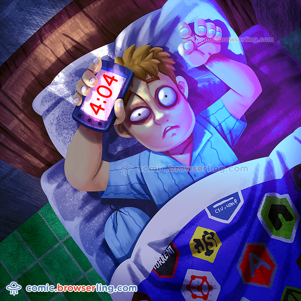 Sleep - Webcomic about programming, web design and web browsers