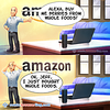 Alexa, buy Whole Foods - Webcomic about programming, web design and web browsers