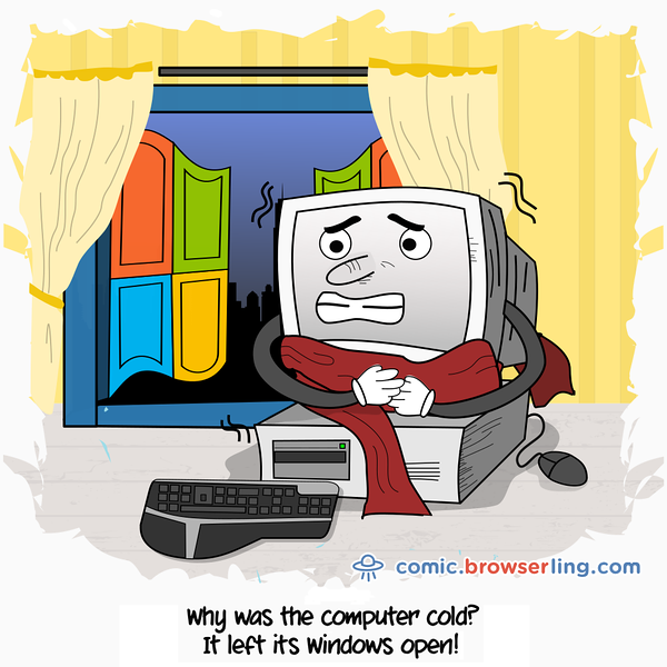 Coldness - Webcomic about web developers, programmers and browsers