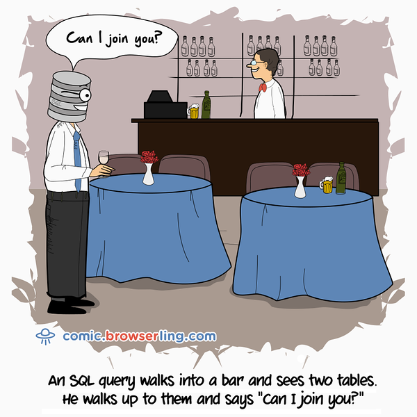 Tables - Webcomic about programming, web design and web browsers