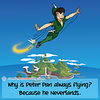 Peter Pan - Webcomic about programming, web design and web browsers