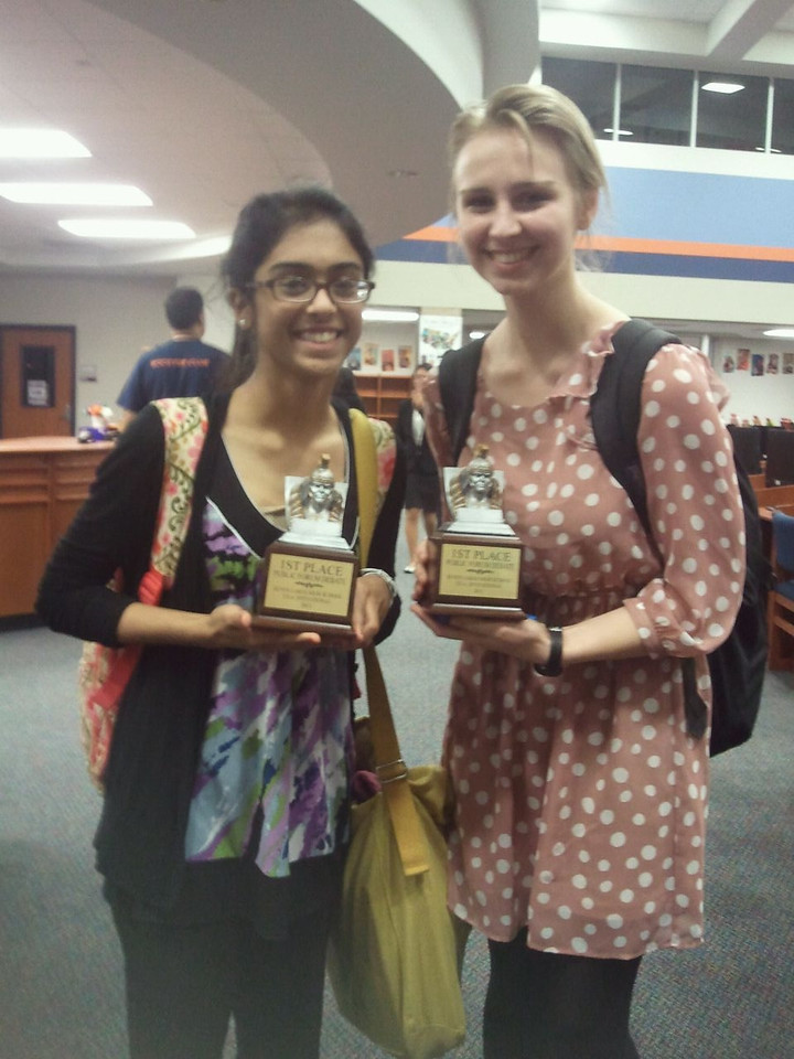 The Stratford Debate Team rounded out its Texas Forensic Association Qualifying season this weekend at Seven Lakes High School.  We are proud to announce that we have a record number of students who have qualified for the State Tournament in March.