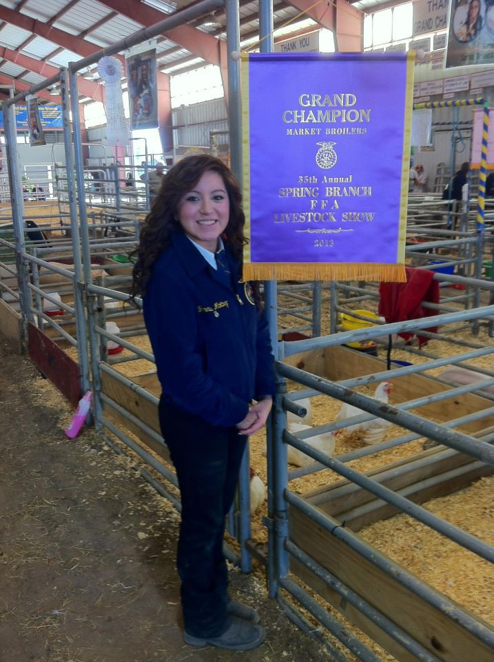 SBISD FFA Show and Sale for 2013 a success!  Congrats to our student winners.