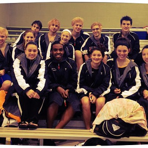 SWHS Varsity Swim Team finalists for the UIL Regional meet in San Antonio, Texas on February 8-9, 2013.