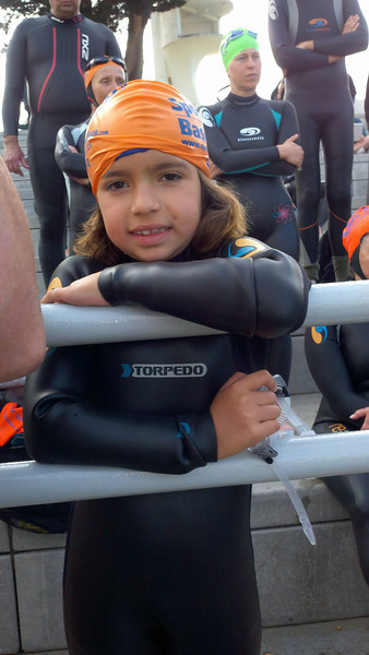 Our new fast New Wave swimmer Maya, 8