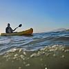 Tony in the Kayak