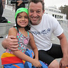 Our new coach Kirk McKinney and his little swimmer Maya