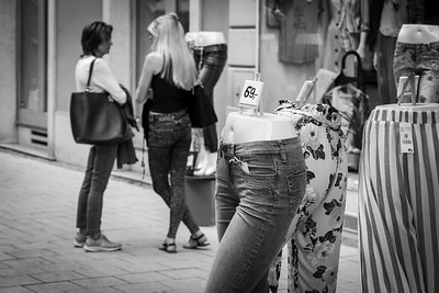 On the street, in Graz